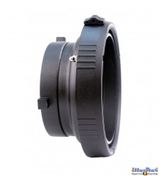 ICMBSEL - Inter-changeable mount - Adapter for use of Elinchrom accessories onto illuStar / Bowens Studio Flash