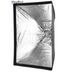 SBUF6060A135 - Softbox - (Fast foldable like umbrella) - 60x60cm - illuStar