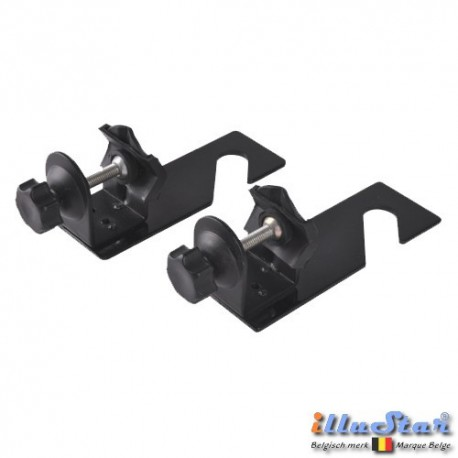 TC-1EX - Tube Clamp (10-40 mm) with Hook (single axis) for Expan (background rolls) (1 pair)