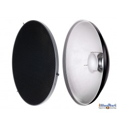 RBDHC-30 - Beauty dish - Soft Reflector ø30cm with Honeycomb for SMD-serie & Mini & FS studio flash ø98~95mm