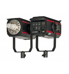 AX-250 - Studio Flash - Digital and stepless 8Ws~250Ws - Cooling fan - E27 150W halogen - elfo adaptor