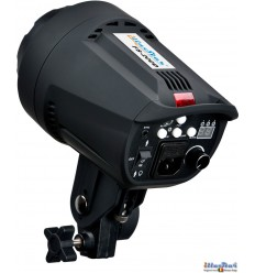 FS-200D - Studio Flash, Digital and Stepless 200~6 Ws, GX6.35 100W halogen, Bowens-S adaptor