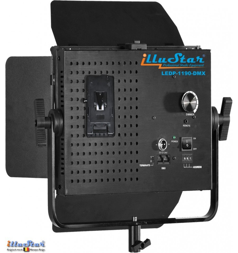 ledp 1190 dmx 75w led video foto studioverlichting 5400k