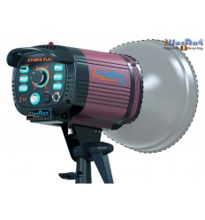 FI-300A - Studio Flash - Stepless variable 300~9 Ws (Joule), E27 150W halogen - Cooling fan, Bowens-S adaptor  - illuStar