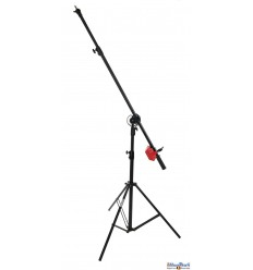 LSB-235 - Light boom set - Heavy duty - Stand high 190~100cm, Pivot clamp, Boom arm 240~130cm with G-PESO of 4kg
