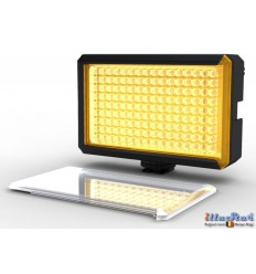 LED Video & Foto cameralamp 8W LEDC-8W - 5500°K - 850 lx - Voor 6 AA batterijen - illuStar