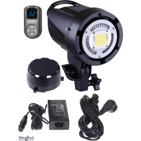LEDB-500 - 50W LED Video & Photo Studio Lamp (Bowens-S adaptor), 5500°K, 6000 lm, Digital