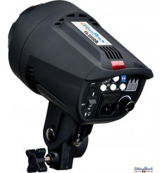FS200DR - Studio Flash, Digital and Stepless 200~6 Ws, GX6.35 100W halogen, Bowens-S adaptor