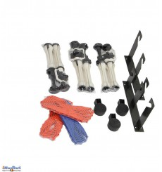BE3 - Background Elevator by hand kit- Triple Hook (three axis) with 3x Expan - wall/ceiling mount (1 pair) - illuStar