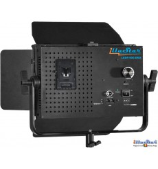 SET-LEDP-900-DMX - 54W LED Video & Foto Studioverlichting, 5400°K, 6480 lm, DMX-512, V-Mount batterijslot, DC 12V~24V