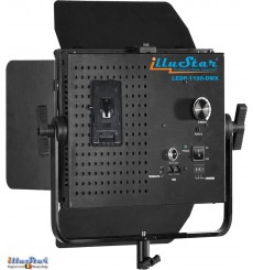 SETLEDP1190DMX - 75W LED Video & Foto Studioverlichting, 5400°K, 9000 lm, DMX-512, V-Mount batterijslot, DC 12V~24V - illuStar