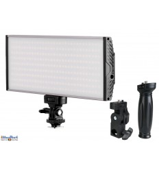 LEDC-30W - 30W LED Studio and Video & Photo on-Camera Light - Bi-Color - 3000 lm - For 2x 7.4V Li-ion battery NP-F550/750/960  /