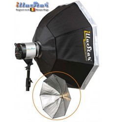 SB-120-A144 - Softbox ø120cm - Octagonal - 360° rotating - foldable - carry bag