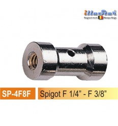 "SP4F8F - Spigot 5/8"" - 25mm (female 1/4"" - female 3/8"") - illuStar"