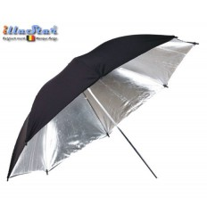 UR-100S - Umbrella ø101cm - Silver & Black