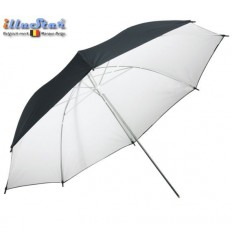UR100WB - Umbrella ø101cm - White & Black - illuStar