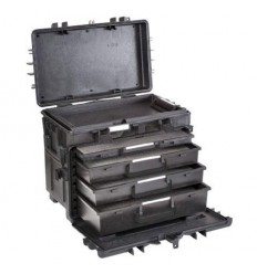 Explorer Cases 5140 Koffer Trolley Zwart Foam 581x381x455