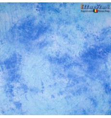 BM025 - Backdrop 3 x 6 m - High quality cotton muslin - Pocket loop for crossbar at the top - Crush Dyed - illuStar