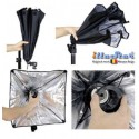 LH-SBO-55 - Lamp Holder for E27 bulb with Easy Foldable Softbox ø55 cm Octagonal