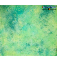 BM-089 - Backdrop 3 x 6 m - High quality cotton muslin - Pocket loop for crossbar at the top - Crush Dyed