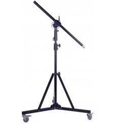 BM-H185A - Light boom set - Heavy duty - Stand high 220~140cm - Pivot clamp - Boom arm 290cm with G-PESO of 5kg