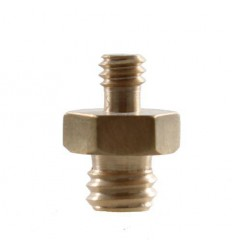 "Spigot Adapter MC-1060 1/4"" Male 3/8"" Male"